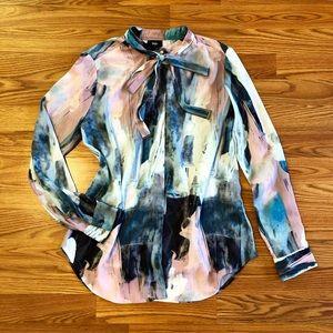 Mossimo Watercolor Tunic
